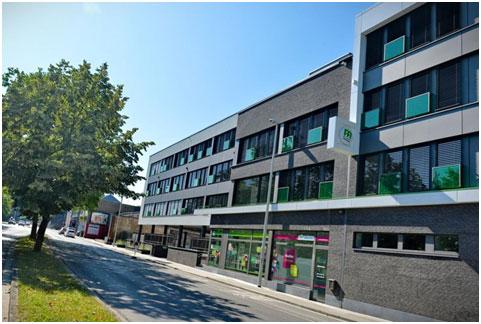 Bâtiment du Centre de Diagnostic de Verviers en partenariat avec la Mutualité chrétienne