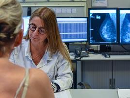 Mammographie au Centre de Diagnostic de Verviers Eupen
